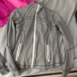 Lululemon tonka white stripe define jacket